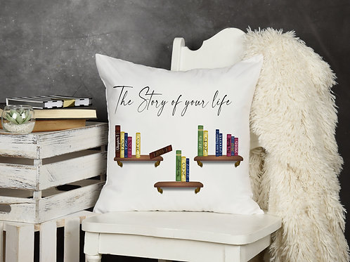 The Story of your Life Cushion