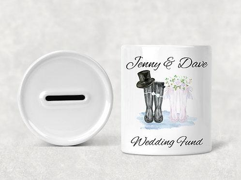 Wedding Fund Money Box, 3 different designs