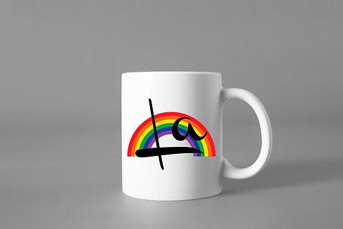 It's a Sin inspired 'La' mug