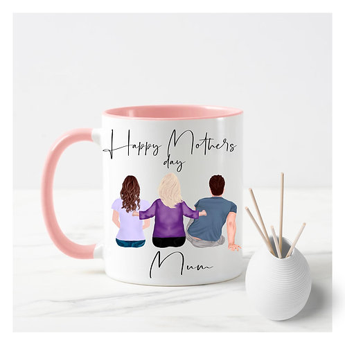 Build a family mug, personalised to your family