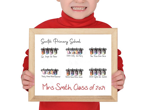 Class of 2021 School bag, print only BOGOF