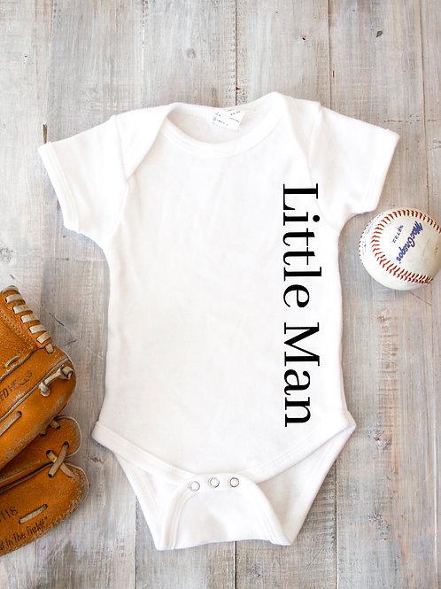 Little Man Baby Vest/Bodysuit