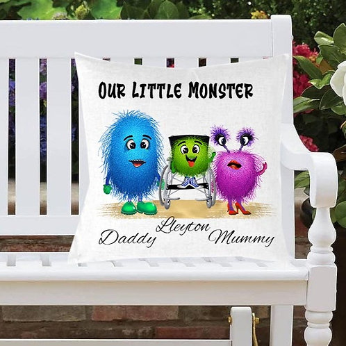 Monster Family Cushion Cover