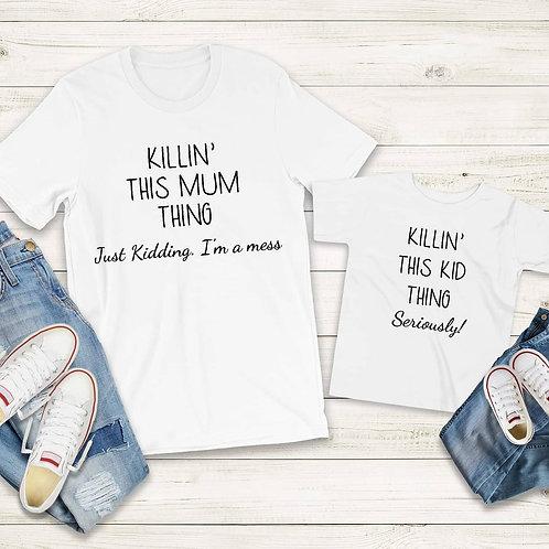 Mum and Child Tshirts