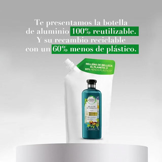 Herbal Essences recyclable bottle