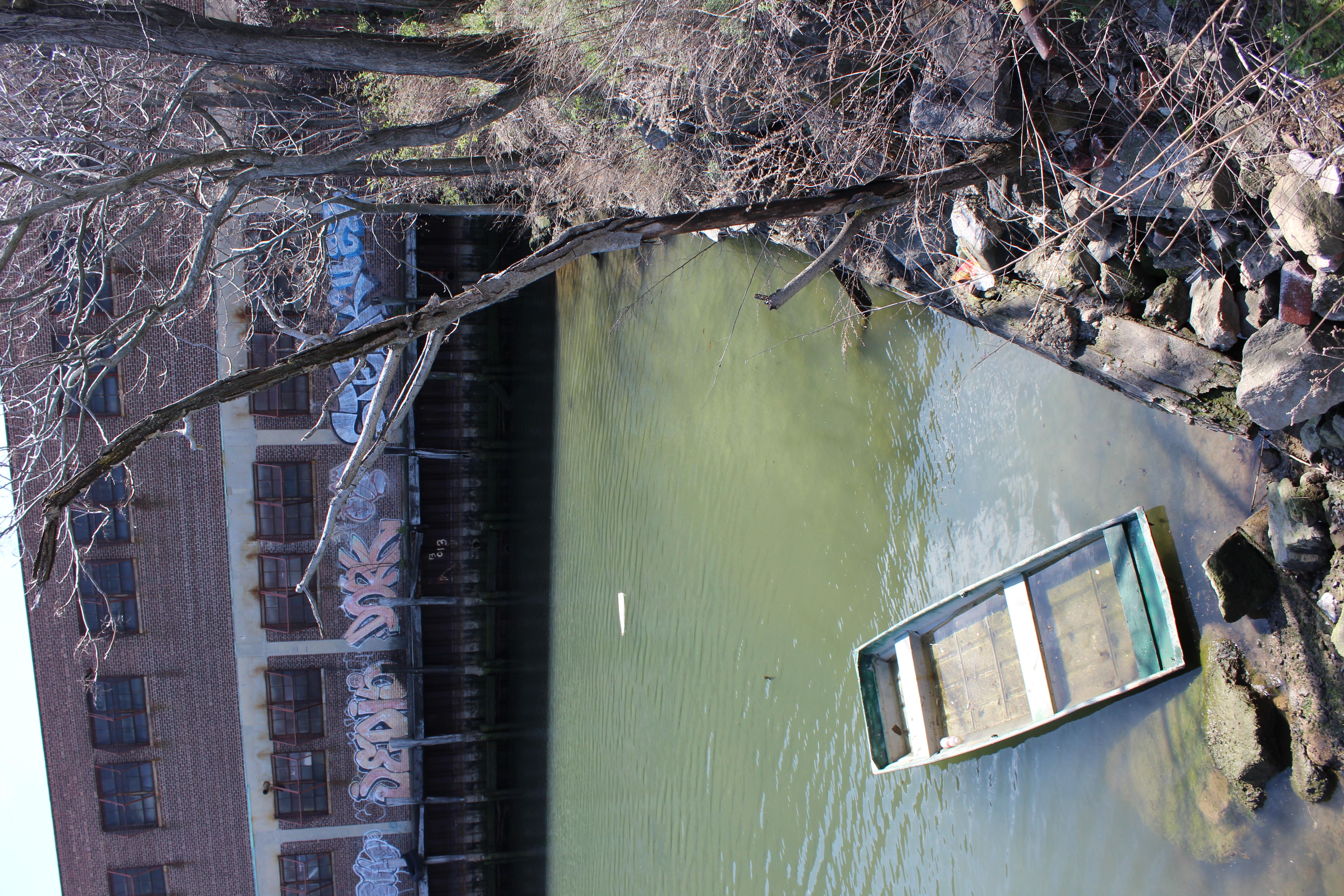 Gowanus Canal Canoe