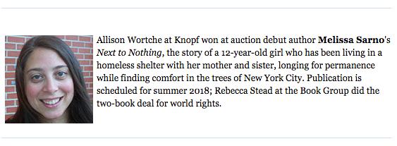 Book Deal News