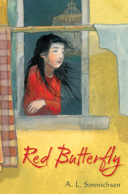 Celebrating the cover for RED BUTTERFLY by A.L. Sonnichsen
