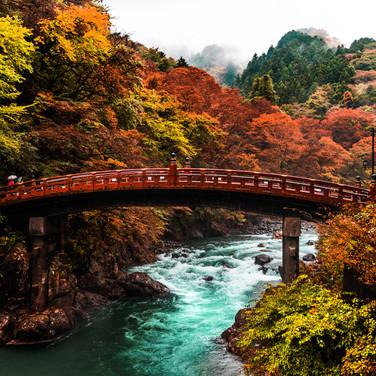 Shinjuku Bridge, Nikko Japan