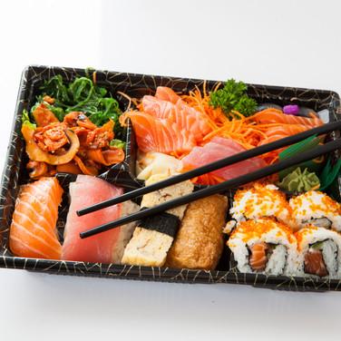 Bento Box Sushiand sashimi