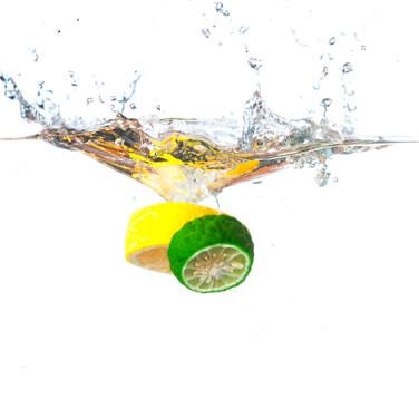 Fresh fruit splash