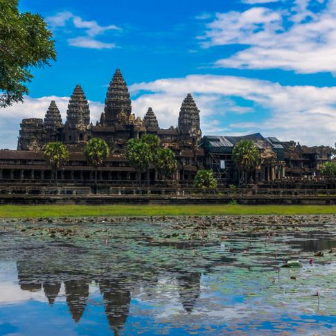 Ankor Wat, Siem Reap, Cambodia.