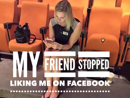 """My Friend stopped """"LIKING"""" me on facebook"""