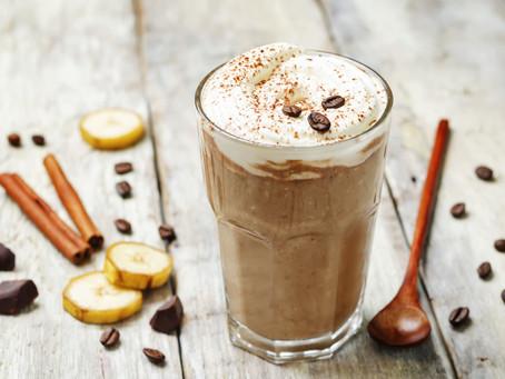 Рубрика интересные рецепты Кофе: Кофе с бананом и корицей