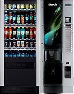 Комбинированые автоматы BVM- 951/BVM -676 - кофейный и снековый автомат
