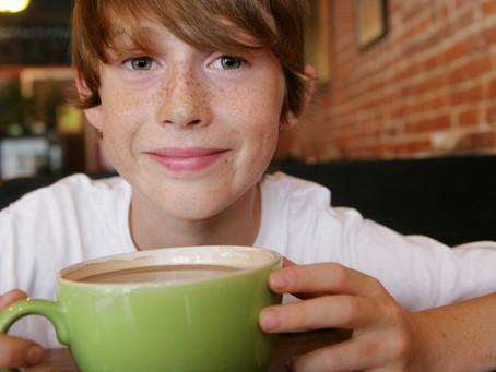 Можно ли пить кофе детям спросити вы?