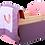 Thumbnail: סט: עריסת בובה עם מצעים