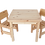 Thumbnail: סט: שולחן + 2 כיסאות