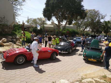 The collectible cars' journey visit SOS Children's Village Neradim.
