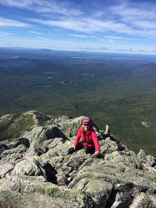 Hiking up/Climbing Maine's Highest Peak-Mt. Katahden.