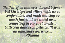dance competition training