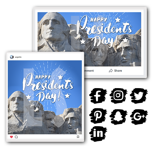 President's Day Holiday Graphics Bundle