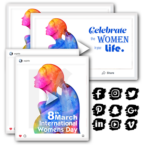 Women's Day Holiday Content Bundle