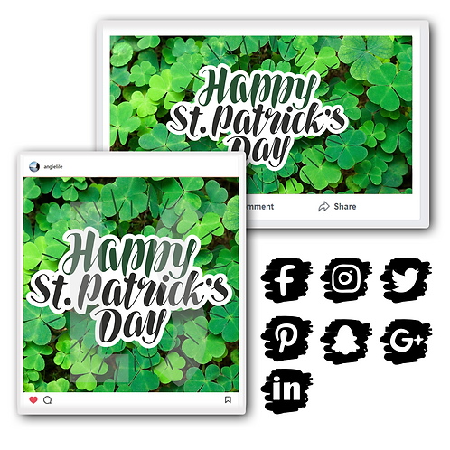 St. Patrick's Day Holiday Graphics Bundle