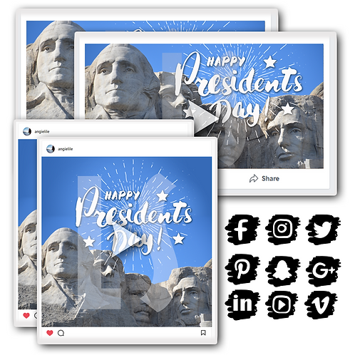 President's Day Holiday Content Bundle