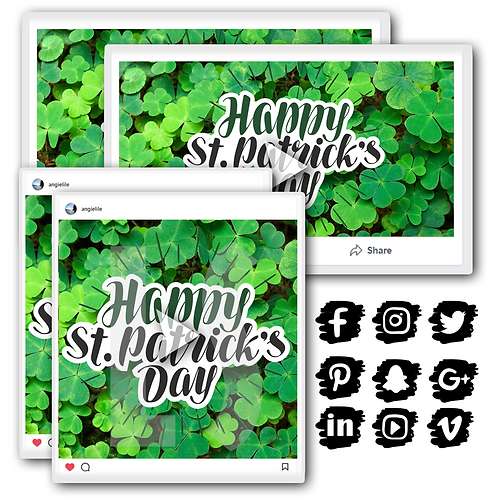 St. Patrick's Day Holiday Content Bundle