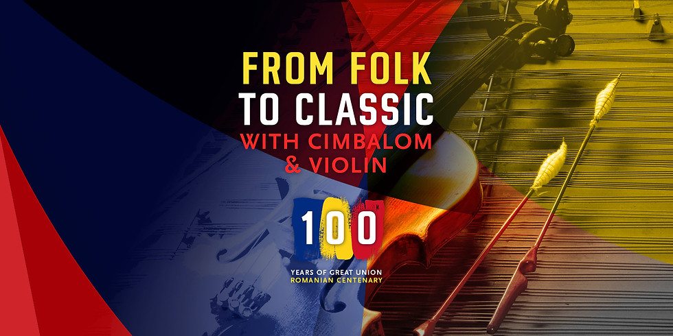 From Folk to Classic with Cimbalom & Violin