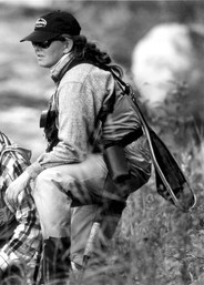 RACHEL FINN is a Patagonia fly fishing ambassador and an ambassador for the American Museum of Fly Fishing, and head guide at Hungry Trout Fly Shop in upstate New York. Also a fine artist, Rachel received her MFA from Yale.