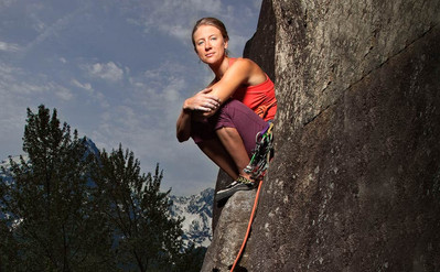KATE RUTHERFORD is a Patagonia rock climbing ambassador with many notable first accents. While she grew up climbing a trapeze in her Alaskan cabin, she officially learned to climb while attending Colorado College, but a visit to Yosemite changed everything. Today, free climbing long crack systems is her passion, which she augments with making jewelry and stints as a fly fishing guide.