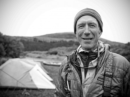 MARK RUTHERFORD has lived in many remote corners of Alaska. He helped design both National Parks and Wildlife Refuges during the Carter Administration and worked for the Alaska Department of Natural Resources in both management and Search and Rescue. Mark runs a small Alaskan fly fishing guide service dedicated to low impact, backcountry float trips on pristine rivers. He also sponsors a Veterans trip each year, offering an experience few disabled veterans would only dream of.