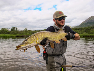 """CAPTAIN JOHN JINISHIAN is a certified boat captain for the waters of Long Island Sound in Connecticut, John is also an Alaskan fly fishing guide. A contributing author to Anglers Journal, John also helped produce a documentary film on fly fishing called """"Foundations"""", a cross generational project filmed in Montana in 2015."""
