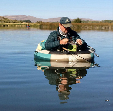 GREG LOOMIS is a fly fishing guide based in Ketchum, Idaho. Over the past 15 years Greg has been monitoring all aspects of Silver Creek in Bellevue, Idaho. He measures water quality and quantity, works with local ranchers to understand the numerous spring fed aquifers, water table and irrigation balance within the Silver Creek drainage. Greg worked closely with ranchers, private donors and The Nature Conservancy on a large pond restoration project in 2013. He founded and diligently maintains the website savesilvercreek.org.