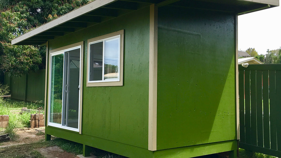 120sf Permit Exempt garden pavilion