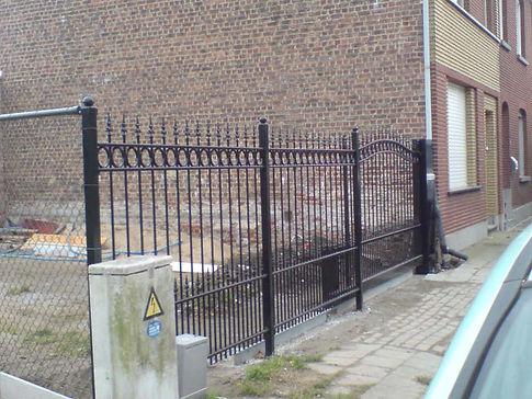 clôture noir
