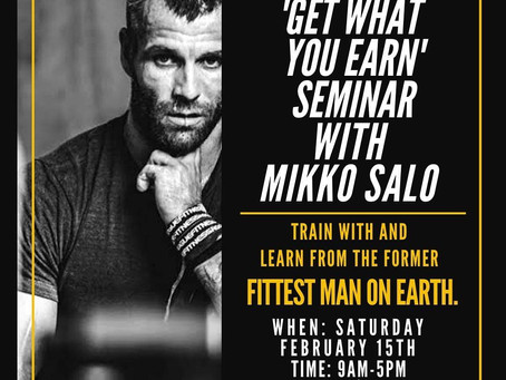 MIKKO SALO AT PARC - 15TH FEBRUARY