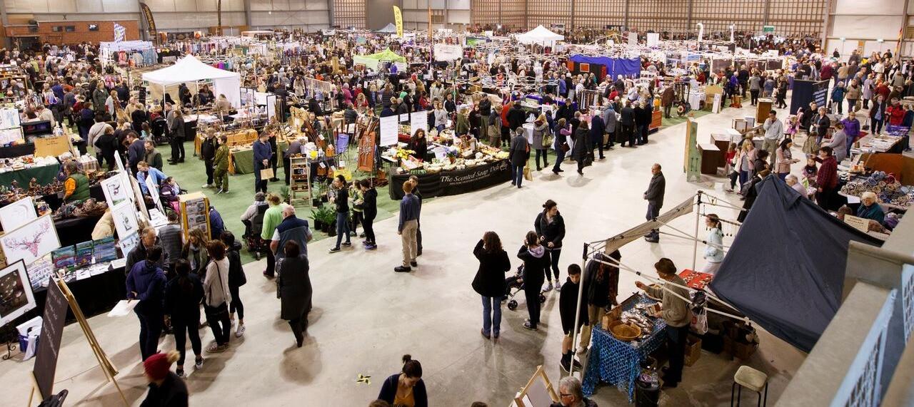 The Feilding Craft Market: October