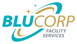 BLUCORP Facility Services Logo