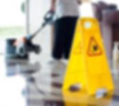 Floor mainenance cleaner