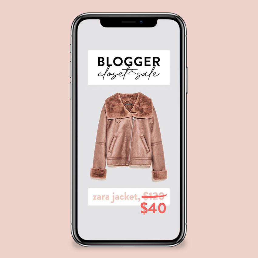 NYC Blogger Closet Sale