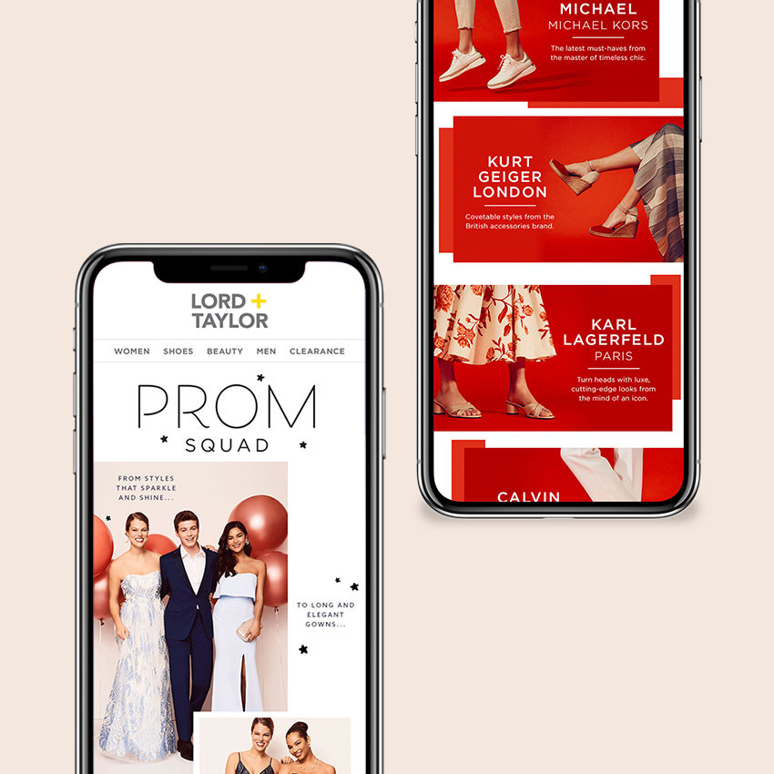 Lord + Taylor Digital