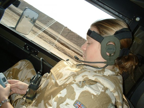 Communication in military convoy