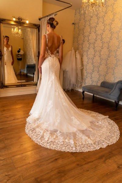 Bride in The Bride Shop