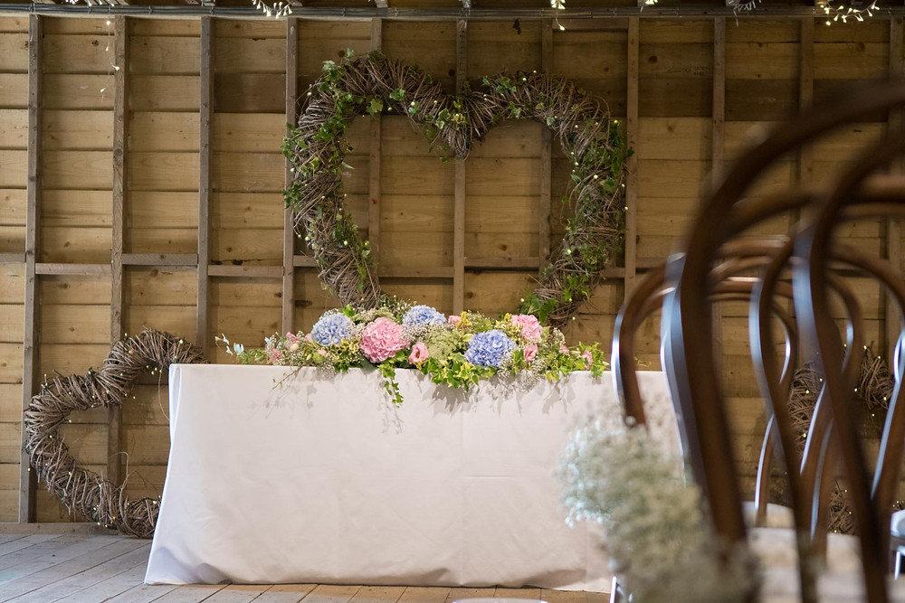 Ceremony table