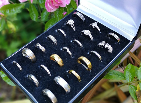 Remember your day forever with a ring that tells your personal love story!