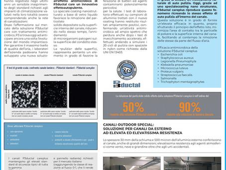 S.T.A. srl - canali antibatterici ad effetto autoplulente