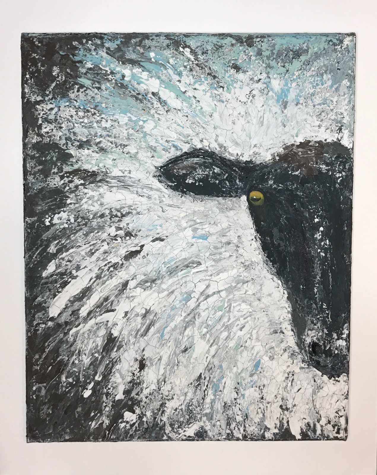 Abstract sheep